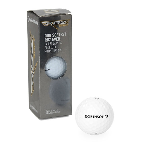 Picture of ROBINSON Golf ball Taylormade RBZ soft