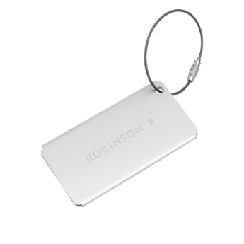 Picture of ROBINSON luggage tag metal