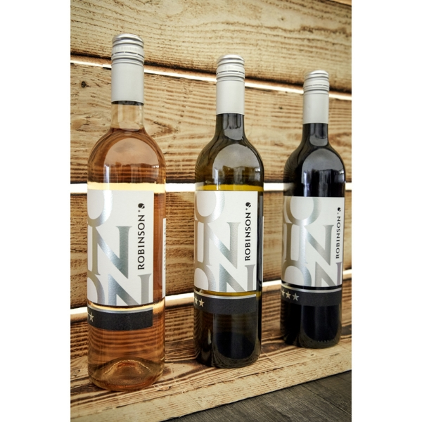 Picture of ROBINSON red/white/rosé wine set of 3
